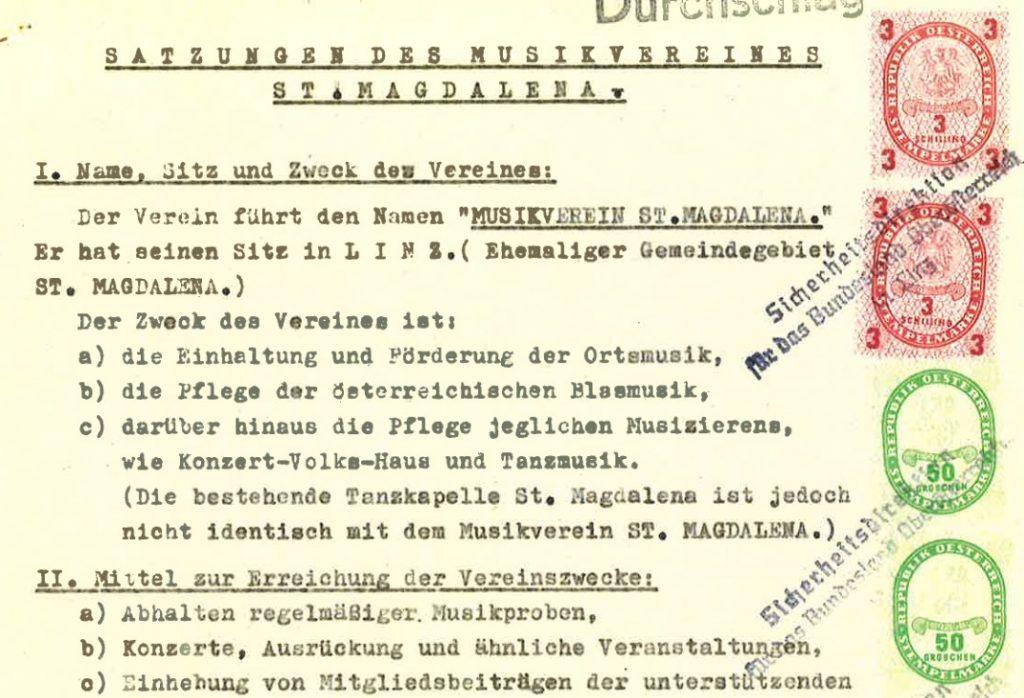 Geschichte der Generalversammlung